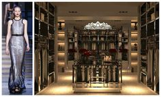 Attirant Shimmery Lux Closets   Dressing Room   Design Duets   Fashion U0026 Decor  Pairings   Collage
