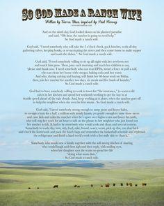 So God Made a Ranch Wife $10 @ www.sierrashea.com #ranchlife #ranchdecor #homedecor