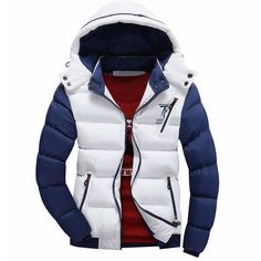 Cheapest Sell like hot cakes New Winter Jacket Men Warm Down Jacket Casual Parka Men padded Winter Casual Handsome Winter Coat Men Mens Winter Coat, Winter Jackets, Casual Jackets, Men's Jackets, Warm Jackets, Padded Jacket, Cotton Jacket, Mens Sweatshirts, Men Casual