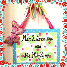Classroom sign inspired by Personal Pizazz by Lindsay
