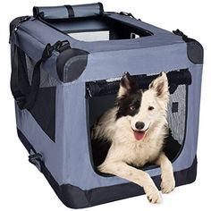 I just saw this and had to have it Dog Soft Crate 26 Inch Kennel for Pet Indoor Home & Outdoor Use – Soft Sided 3 Door Folding Travel Carrier with Straps – Arf Pets you can {read more about it here http://bridgerguide.com/dog-soft-crate-26-inch-kennel-for-pet-indoor-home-outdoor-use-soft-sided-3-door-folding-travel-carrier-with-straps-arf-pets/