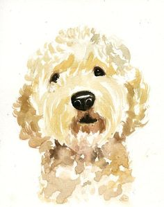 Custom pet portrait pet portrait custom custom dog portrait Order an oil painting of your pet now at www. Custom Dog Portraits, Pet Portraits, Portrait Illustrator, Watercolor Animals, Watercolor Paintings, Watercolor Trees, Watercolor Landscape, Abstract Paintings, Tatoo Dog