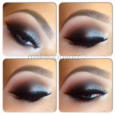 Smokey Eye..Not The Tradtional Black And White