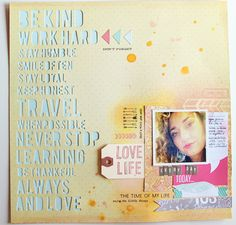 I like the punched out type here. Try this with Cricut Explore.