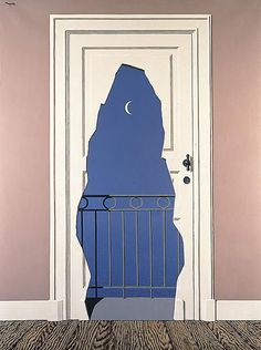 René Magritte   Belgian, b.1898  L'acte de foie, 1960.  Oil on canvas