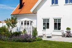 Inredning - Inspiration från Trivselhus Nordic Home, Scandinavian Home, Bungalow, Home Focus, Outdoor Living, Outdoor Decor, Pergola Designs, House Rooms, Garden Inspiration