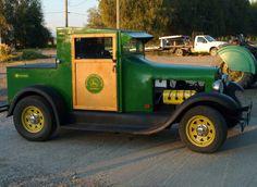 John Deere Car Hot Rod Trucks Old Clic Cars
