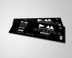 Attractive Ticket Designs Ticket Design Pinterest Event