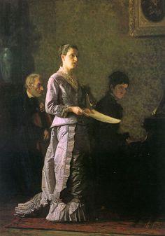 The Pathetic Song    Thomas Eakins