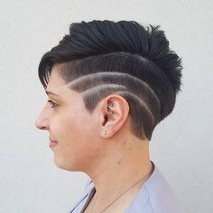 By Erik Lindström at Voltage Salon in Fort Collins, CO. www.eriklindstromhair.com . ✂️️💈🖌️Hairstylist / Colorist / Dreadlock Artist ⚧⚨♁Specializes in Transgender & Queer Hair 🌈LGBTQ+ Friendly .  instagram.com/erik_voltagesalon .  facebook.com/erikvoltagesalon .  erik-voltagesalon.tumblr.com twitter.com/erik_voltage . #fortcollins #fortcollinshair #denverhair #hair #hairstylist #hairporn #hairgoals #hairideas #hairfashion #modernsalon #rawartist #kevinmurphy #erik_voltagesalon #voltagesalon Queer Hair, Undercut Pixie, Kevin Murphy, Fort Collins, Transgender, Hair Goals, Salons, Facebook, Twitter
