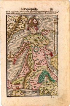 [Europa Regina], Munster, 1588  http://stores.ebay.com/SANDTIQUE-Rare-Prints