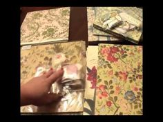 Mini Album Tutorial and Anna Griffin Haul - YouTube