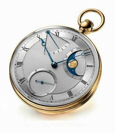 BREGUET celebrates the reknowned pocket watch, replicated from its first 1794 model. It retails at approximately SGD Army Watches, Watches For Men, Unique Watches, Vintage Watches, Swiss Pocket Watches, Beautiful Watches, Awesome Watches, Old Clocks, Vintage Pocket Watch