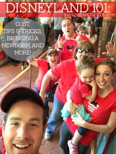 How to do Disneyland on the cheap...and do it with kids! A 3-part series with everything you'd ever need to know! From FunCheapOrFree.com