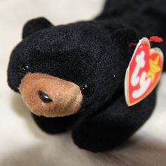 5f75d861b94 Items similar to Original MINT TY Beanie Baby Blackie - Retired - Rare -  PVC pellets - Tag Errors - No Stamp on Etsy