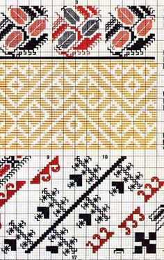 FolkCostume&Embroidery: Costume and Embroidery of Bukovyna, Ukraine, part 1 morshchanka Ribbon Embroidery, Embroidery Applique, Cross Stitch Embroidery, Embroidery Patterns, Blackwork, Swedish Weaving, Stitch Shirt, Folk Clothing, Ethnic Patterns