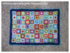 mi rincón de mariposas: Tutorial mantita de crochet
