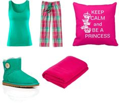 """sleepover"" by lisetter ❤ liked on Polyvore"