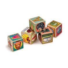 XYZ Alphabet Blocks