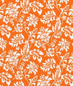 Swavelle / Mill Creek Outdoor Wexford Tangerine Fabric - $8.85 | onlinefabricstore.net
