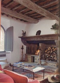 32 Nice Tuscan Living Room Decor Ideas You Will Love - When you chose to deck up your living room in the much vaunted and well liked Tuscan style, the look will be reminiscent of central Italy's gentle rol. Tuscan Living Rooms, Italian Living Room, Living Room Decor, Tuscan Colors, Rustic Colors, Rustic Italian Decor, Rustic Decor, Tuscan Decorating, French Country Decorating