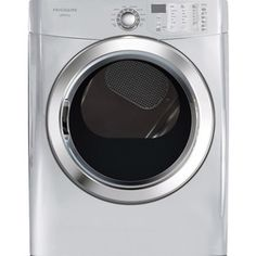 frigidaire affinity 7 cu ft electric dryer classic silver