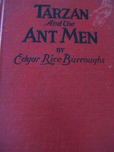 1924 Tarzan and the Ant Men VTG Rare Book Edgar Rice Burroughs Sept 1924