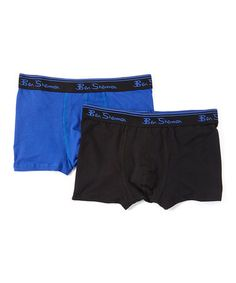 c81d1260d359 Ben Sherman Royal Blue   Black Boxer Briefs Set