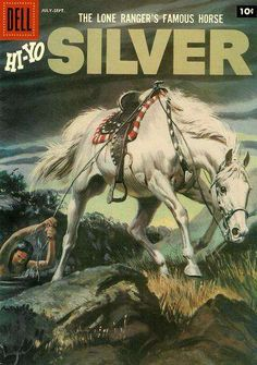 The Lone Ranger's horse, Silver.