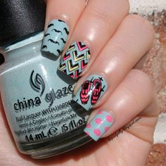Liquid Jelly: [Nail Art] Let's Be Hipster with MoYou London Hipster Stamping Plates