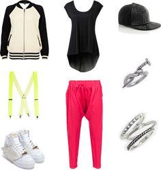 Kpop inspired outfits 2ne1's Dara in Fire (Street Ver)