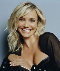 Cameron Diaz layered haircut