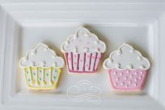 1000 Images About Cookies Cupcake Shape On Pinterest