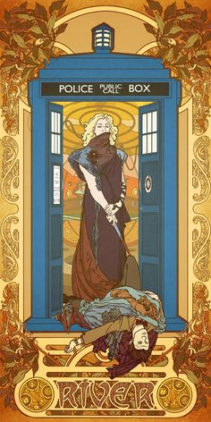 Doctor Who Mucha Style! The Legion of Art Nouveau Heroes @leahkatherine42
