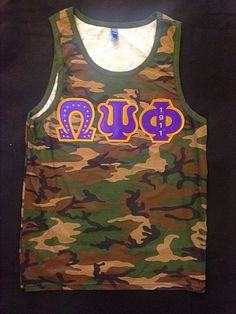 Omega Psi Phi tank Omega Psi Phi, Sorority And Fraternity, Greek Life, Swag, Instagram, Suits, Patterns, Purple, Tattoos