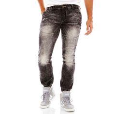 <p>Bleach-wash jeans from akademiks bring a brighter perspective to your everyday denim.</p><ul><li>sits at waist</li><li>baggy fit through seat and thigh</li><li>5-pocket styling</li><li>cotton/polyester</li><li>washable</li><li>imported</li></ul>