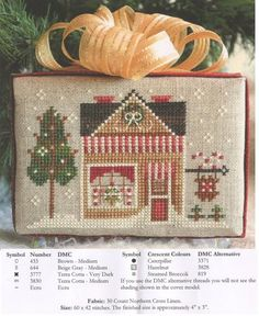 Cross Stitch Chart by Little House Needleworks - Google SearchCPATTERN AND PHOTO