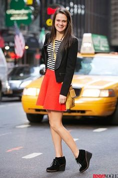 Fall Outfit Inspiration from the Super Stylish Students at Teen Vogue Fashion U   Teen Vogue