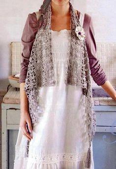 Free Online Crochet Vest Patterns : Stylish Easy Crochet: Crochet Vest Free Pattern For Women ...