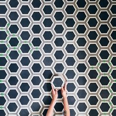 One of our favorite client photos of 2015 is this epic photo by @paigejonesphoto of her hexagonal cement tiles. We are always honored when you choose clé to be in your home and we can't wait to see what 2016 brings! #cletile