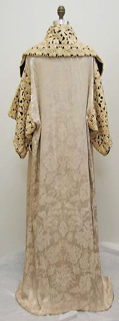 Opera coat Paul Poiret, Date: 1911 Back