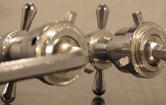60's Rogers Swivomatic Double Tom Holder w/Machined Collets ~Pristine~ | eBay