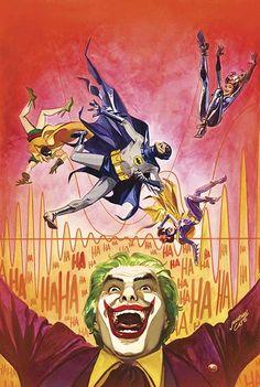 BATMAN '66 #11 Written by JEFF PARKER Art by JONATHAN CASE Cover by JONATHAN CASE