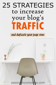Smart Strategies To Increase Your Blog Traffic. Within 2 months I went from 2,000 page views to 12,000 page views. Then, I realised that it was much easier than I though.