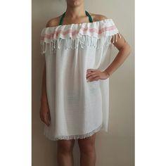 Peştemalden yapılmış plaj elbisesi Cold Shoulder Dress, Dresses, Fashion, Vestidos, Moda, Fashion Styles, The Dress, Fasion, Dress