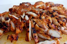 Is there anything better than bbq chicken? The best sharing dish on the planet. Fire up the bbq and invite all your friends and have a great time. Bbq Meat, Bbq Grill, Grilling, Korean Bbq Chicken, Barbecue Chicken, Bourbon Chicken, Good Food, Yummy Food, Japanese Sweet