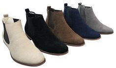 Mens italian suede slip on ankle boots #smart casual #desert chelsea #dealer,  View more on the LINK: 	http://www.zeppy.io/product/gb/2/161509998689/