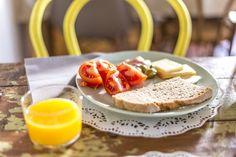 A typical delish breakfast in Mallorca