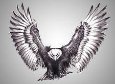 silver eagle by R-Armanl