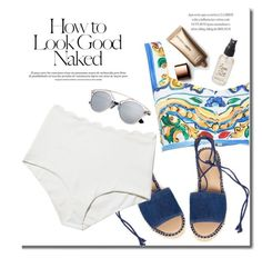 """Dog Days Of Summer"" by adduncan ❤ liked on Polyvore featuring Dolce&Gabbana, Franco Sarto, Marysia Swim, Industrie, Olivine and Nude by Nature"